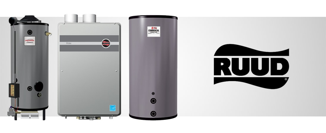 ruud water heaters - atlas supply company